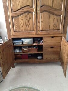 Solid wood armoire London Ontario image 4