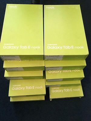 BRAND NEW SAMSUNG GALAXY TAB E SM-T560 16GB Wi-Fi 9.6 BLACK TABLET