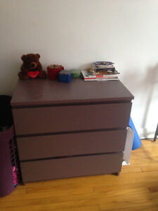 commode a 3 tiroires