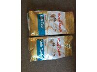 2 bag of Royal canin for puppy shin tzu