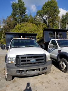 2007 Ford f 550 diesel with dump box