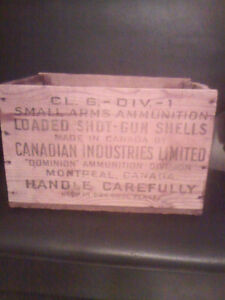 Vintage Small arms ammo case