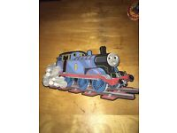 Three retro large Thomas foam wall pictures plus others