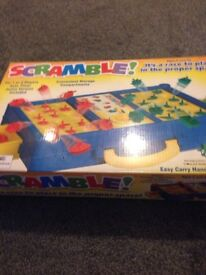Children's scramble game