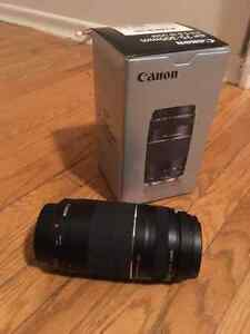 Telephoto lense CANON 75-300mm f/4-5.6