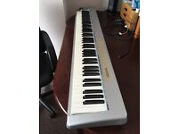 M-Audio 88es keystation midi keyboard w/ sustain pedal, power cord and USB lead