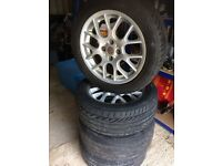 MG/Rover HairPin Alloy Wheels