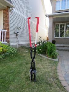 Heavy Duty Excavator Post Hole Digger - in great condition