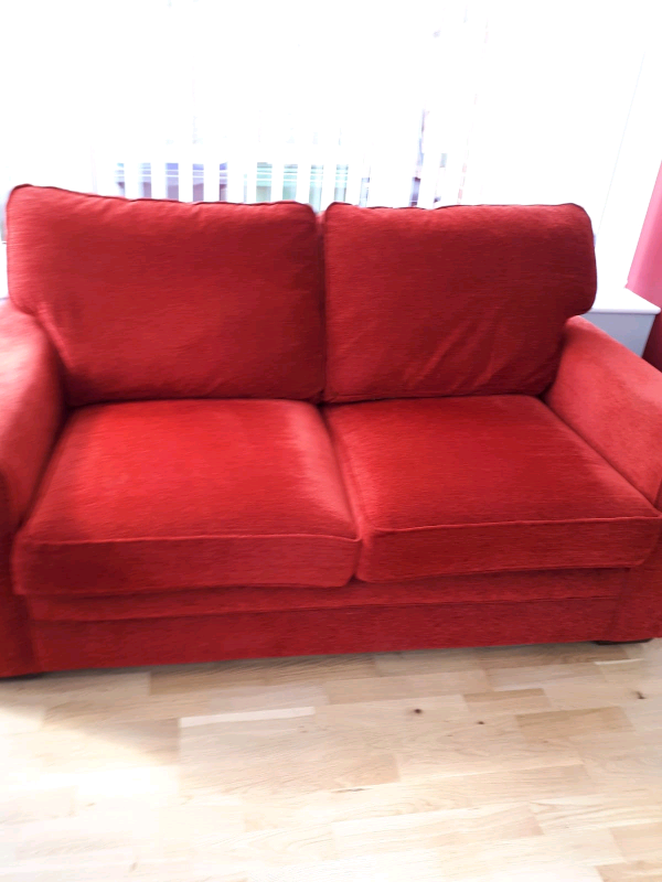 check out c8842 e4764 *** RED USED SOFA BED *** | in Wigton, Cumbria | Gumtree