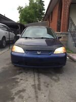 2002 Honda Civic NO RUST HWY KM