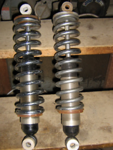 CAR CHROME COIL OVER SHOCKS