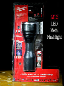 Milwaukee's toughest  M12 LED Metal Flashligh Bare Tool (NEW)