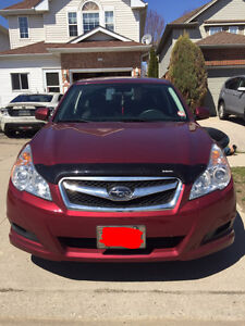 2012 Subaru Legacy 2.5i Premium Sedan | AWD | RED