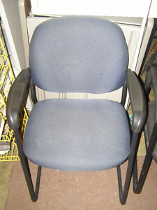 Blue Reception/Guest Chair