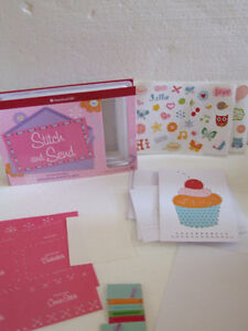 American Girl Stitch and Send greeting cards kit - Brand new London Ontario image 3