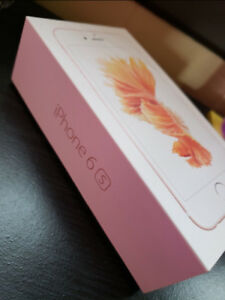 •IPhone 6s Rose Gold PERFECT condition•