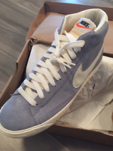 Brand new blue/grey NIKE mens high top sneakers/shoes size 11