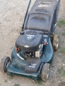 21 in cut self propelled lawn mower