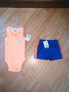 Summer baby clothing new with tags