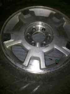 Truck tires and rims with caps