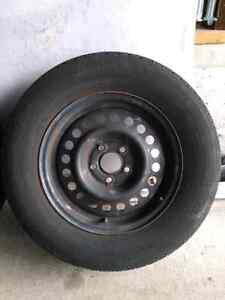 195/70 R14 steel rim set Kitchener / Waterloo Kitchener Area image 4