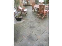 Concrete paving slabs approx 150