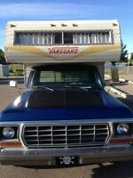 8 Foot Vanguard Camper, 1978 F150 also available