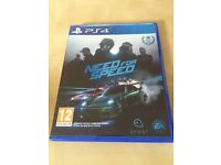 Need for speed . Ps4 game