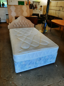 4 FT Divan Bed With Mattress Good Condition