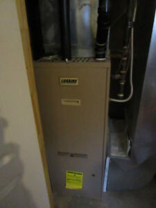 LUXAIRE FURNACE AND TAPPAN AIR CONDITIONER