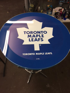 Beautiful Toronto  Maple Leaf Bar Table.
