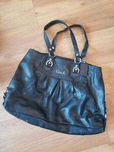 EUC Black Coach Purse