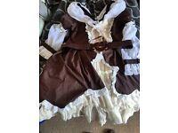 Fanplusfriend sweet Lolita garden dress size 14-16