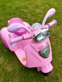Peppa pig 6v bike