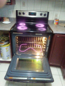 Whirlpool Stainless Stove-$190 in malton
