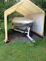 18.5 bowrider and trailer