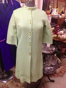 ★ Vintage 60's Eatons NWT Jade Dress Sz14 ★