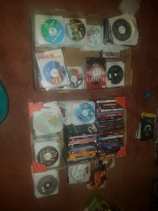 50 dvd movies 25$ for lot