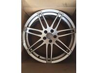 """Genuine Audi A4 A5 Q5 Q3 20"""" Alloy Wheels"""