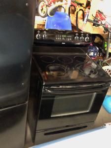 Electric Stove + Matching Fridge & Dishwasher