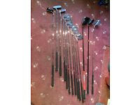 Golf club set with carry bag for man