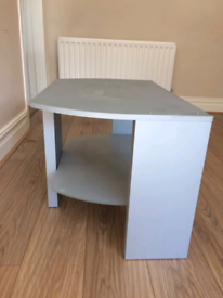 FREE - Silver/ wooden TV Stand