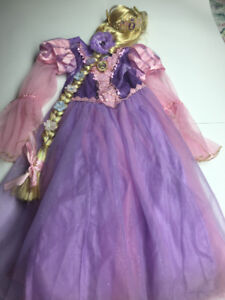 Child's Princess Rapunzel Costume with accessories