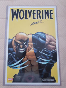 WOLVERINE VOL. 5 HUMBERTO RAMOS SIGNED VARIANT COVER MILE HIGH C