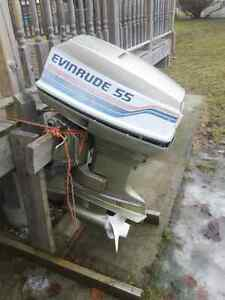Mid 80s evinrude 55 horse.