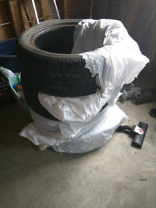 Set of Winter tires for sale.