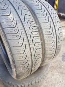 185/60R15 PIRELLI, 4 SUMMER TIRE FOR SELL