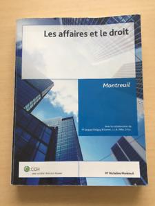 Les affaires et le droit  CCH  Montreuil