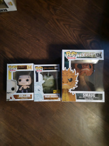The Hobbit and Lord of the rings Funko Pop
