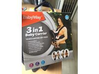 Baby way 3 in 1 carrier